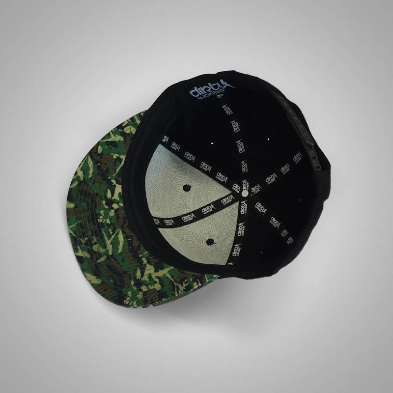 Dirty Workz - Camo 10Y Dedication Snapback