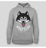 Wolf Clan Grey Hoody