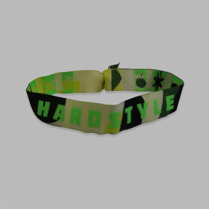 Hardstyle Bracelet Green