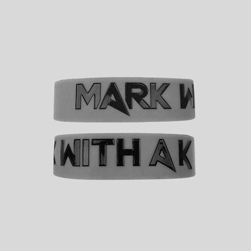 Mark With A K - Silicon Bracelet