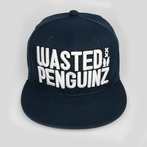 Wasted Penguinz - Dark Navy Blue Snapback