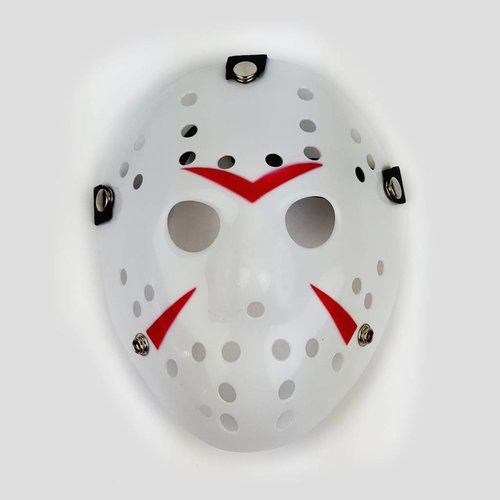 Jason Hockey Mask Striped