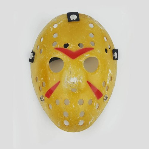 Jason Painted Striped Mask