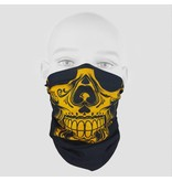 Skull Yellow Bandana