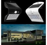 14 LED BUITENLAMP op zonne-energie en met bewegingssensor