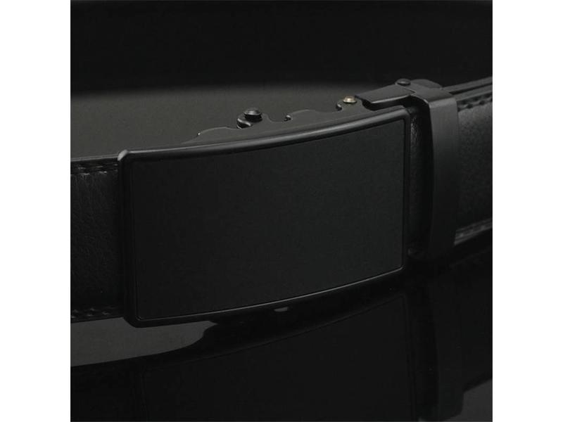 LEDEREN RIEM zonder gaatjes, met automatische gesp ( model 78 )