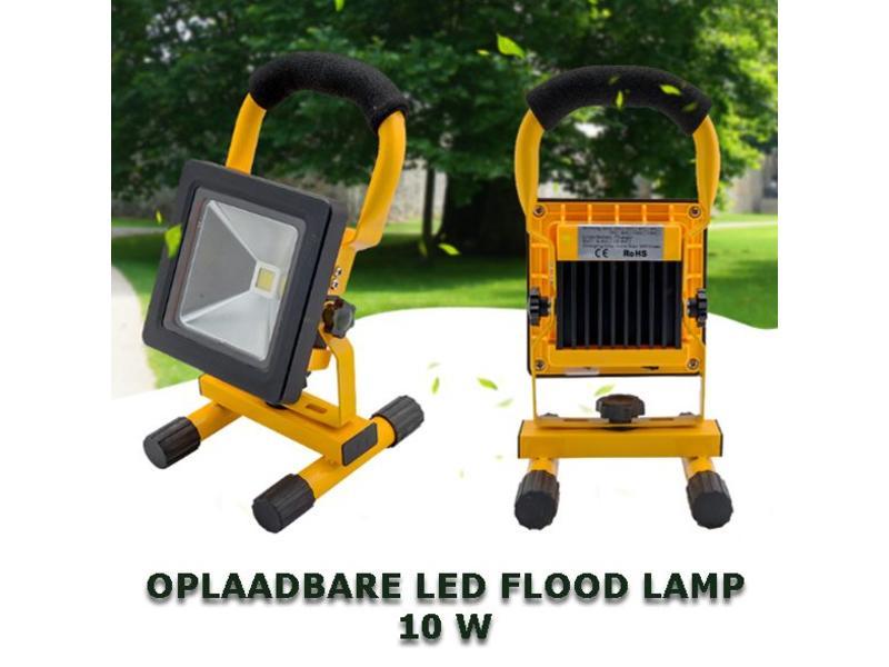 OPLAADBARE LED-BOUWLAMP 10W, voorziet u van licht op de werkvloer