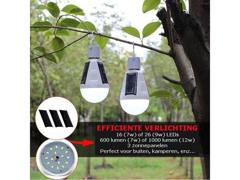 Solar led lamp voor in de tuin of op camping dealsinabox be