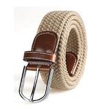 Stijlvolle gevlochten stretch riem, steeds de gepaste lengte