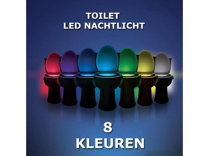 TOILET LED NACHTLICHT met bewegingssensor
