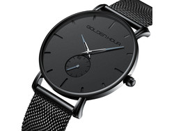 Spring in het oog met dit mooi, elegant en klassevol quartz uurwerk voor dames en heren