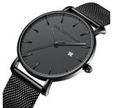 Sober maar stijlvol quartz uurwerk voor mannen