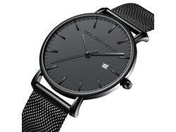 Sober maar stijlvol quartz uurwerk voor mannen. Eenvoud en klasse