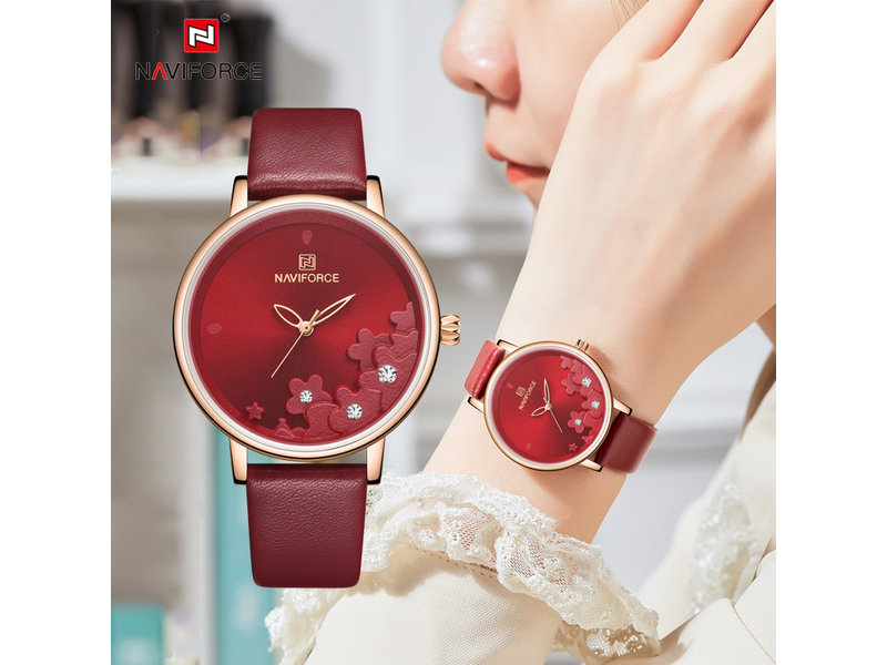 Modieus NAVIFORCE uurwerk voor dames ( Model 5012 )
