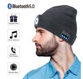 Herlaadbare BLUETOOTH LED BEANIE MUTS, uw garantie voor veiligheid en comfort