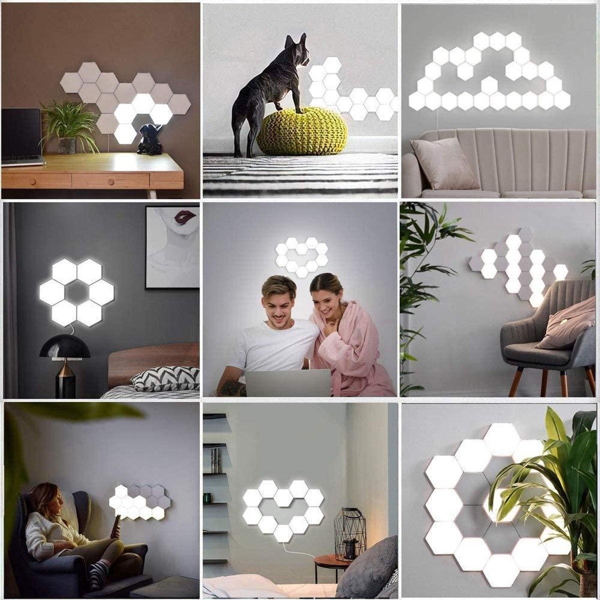 hextagonale lampen
