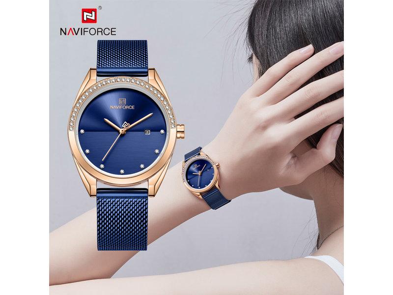 Prachtig NAVIFORCE uurwerk voor dames met stijl ( Model 5015)