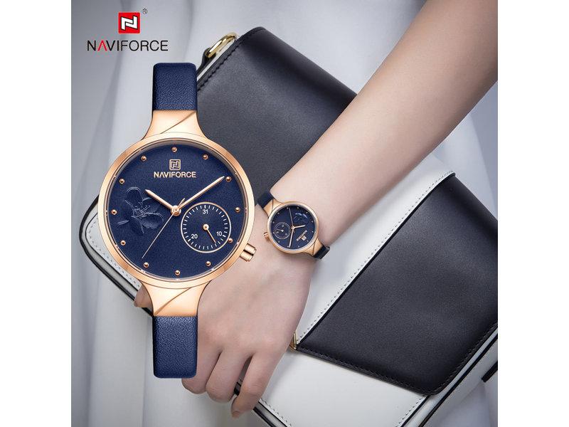 Prachtig NAVIFORCE uurwerk voor dames met stijl ( Model 5001)