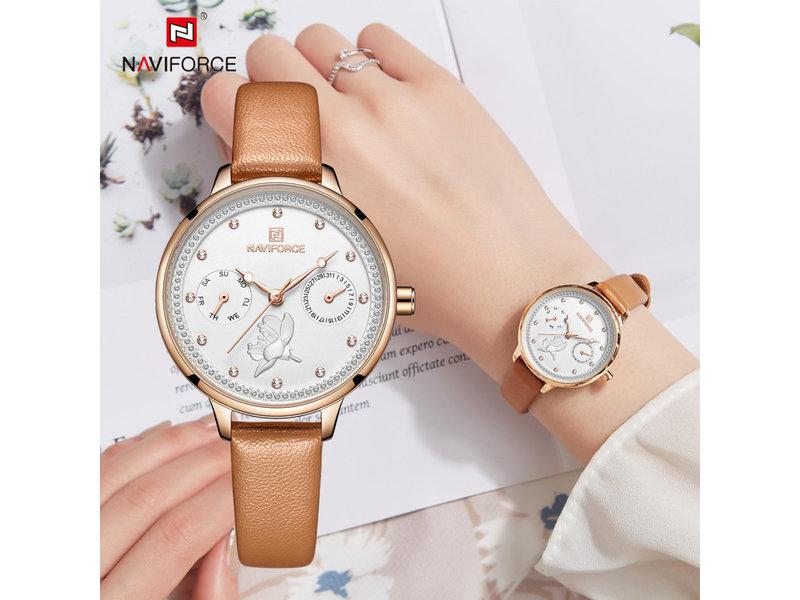 Prachtig NAVIFORCE uurwerk voor dames ( Model 5003)