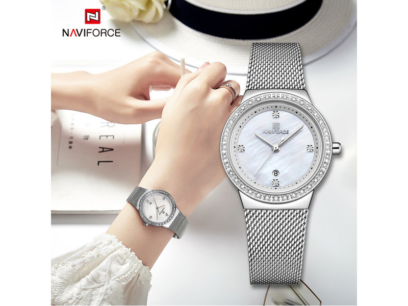 Prachtig NAVIFORCE uurwerk voor dames ( Model 5005)