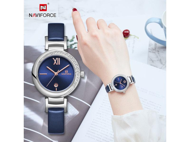 Prachtig NAVIFORCE uurwerk voor dames met stijl ( Model 5007)