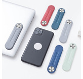 Magnetische multifunctionele  laptop en pc telefoonhouder in harde plastiek