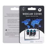 GRATIS set webcam covers, veilig tegen ongewenste gluurders