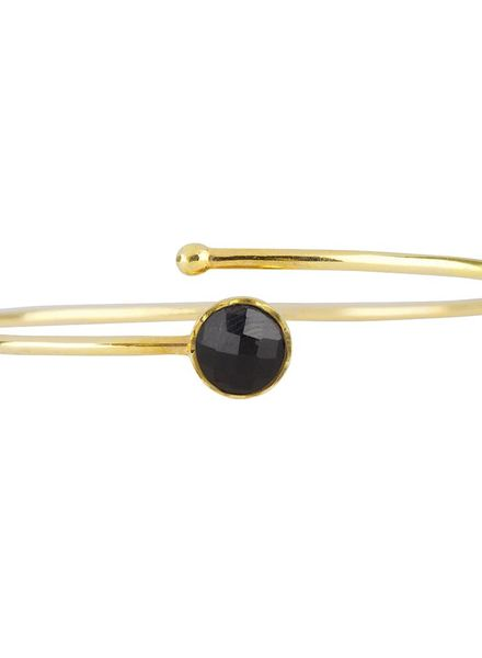 Marissa Eykenloof Gold bracelet Black Onyx kids