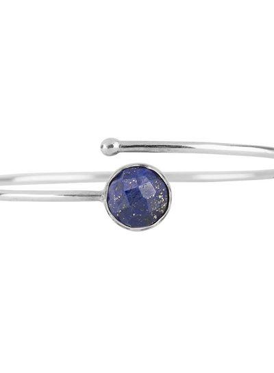 Marissa Eykenloof Silver bracelet Lapis lazuli