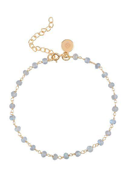 Marissa Eykenloof Beaded bracelet Labradorite
