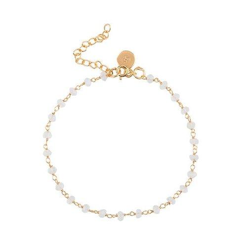 Marissa Eykenloof Beaded gold bracelet black onyx