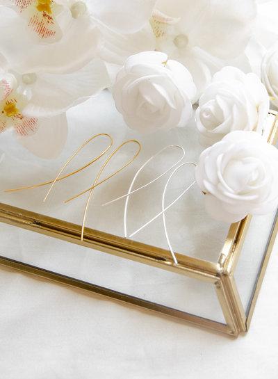 Marissa Eykenloof Aimee geometric earring silver
