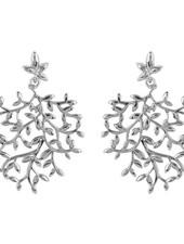 Marissa Eykenloof Nyssa tree  earring silver