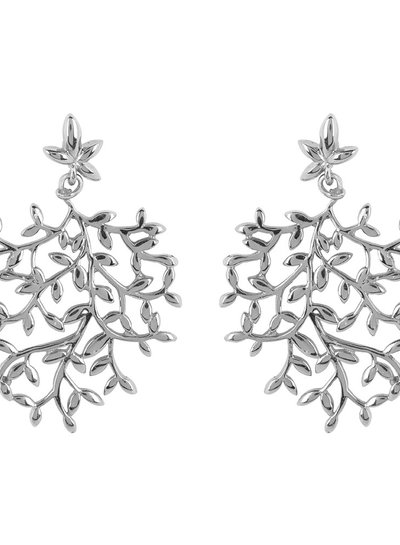 Marissa Eykenloof Nyssa tree earring gold silver