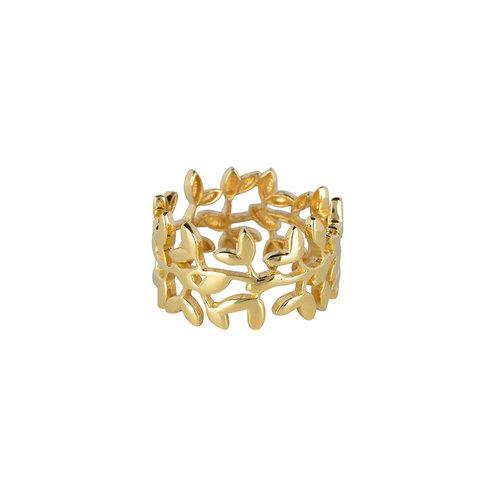 Marissa Eykenloof Wide ring gold