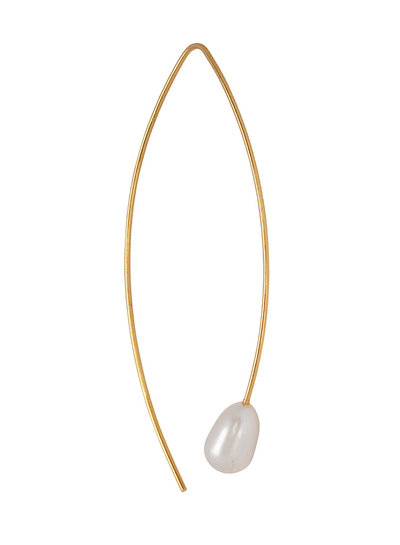 Marissa Eykenloof Celestia pearl earring gold