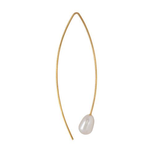 Marissa Eykenloof Pearl earring gold