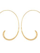 Marissa Eykenloof Gold earring hoop