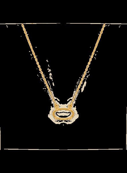 Marissa Eykenloof Amber Necklace oval