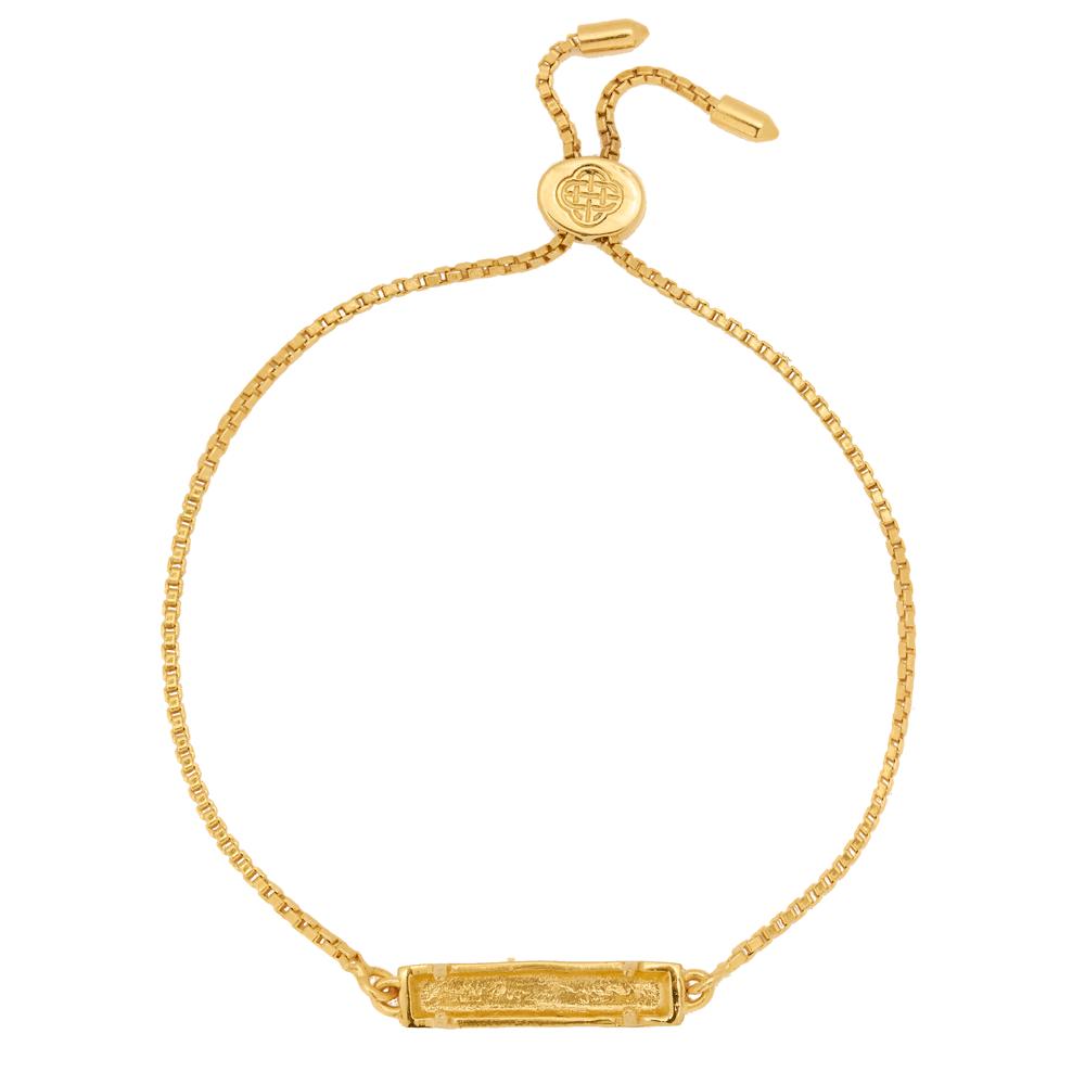 Marissa Eykenloof Char Bracelet Baquette gold