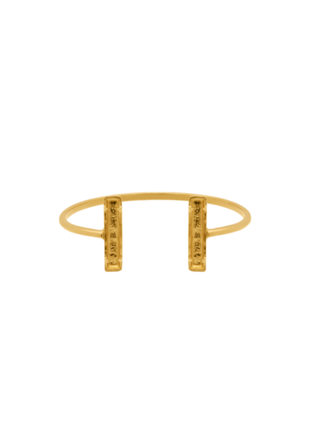 Marissa Eykenloof Bangle gold