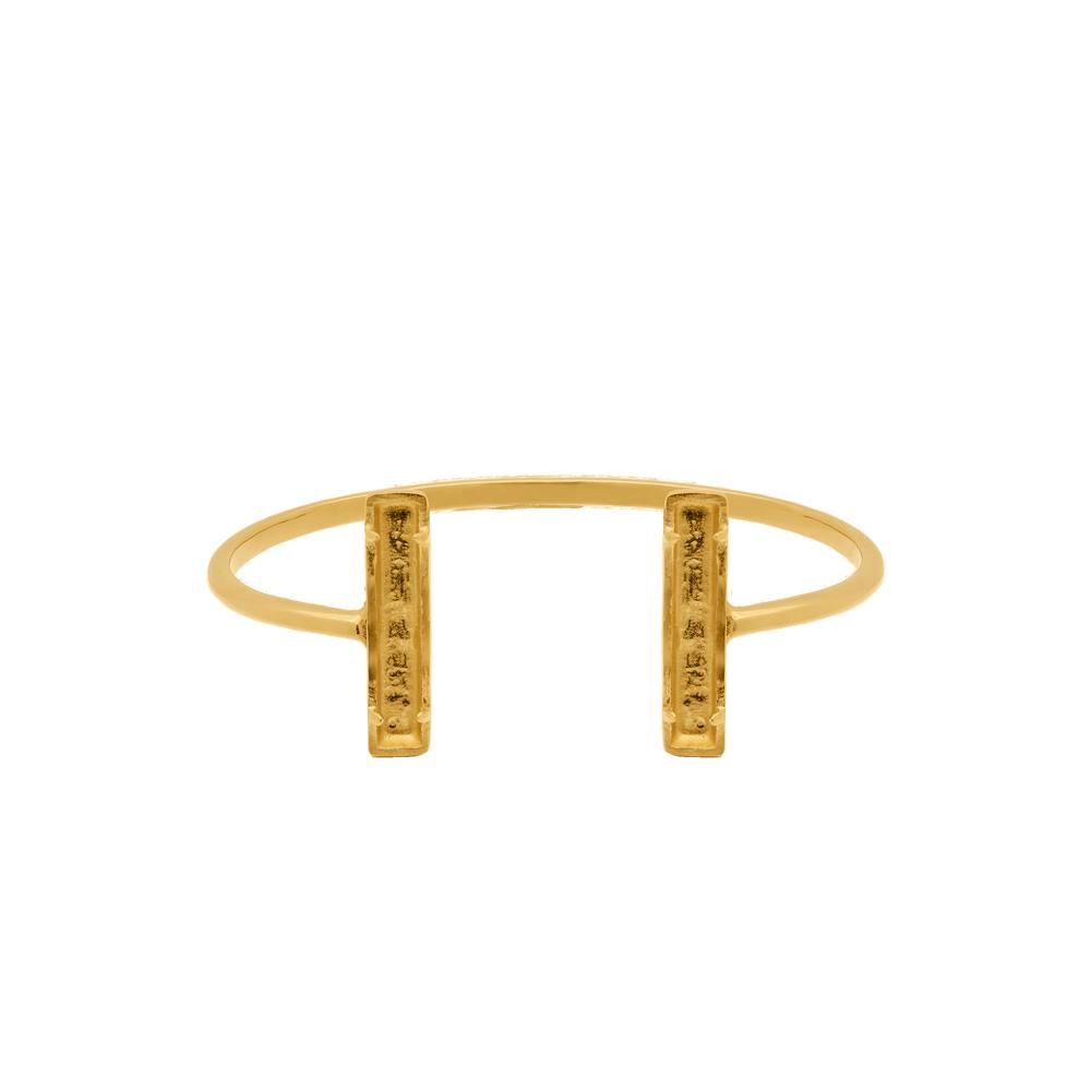 Marissa Eykenloof Henna Armband Baquette goud