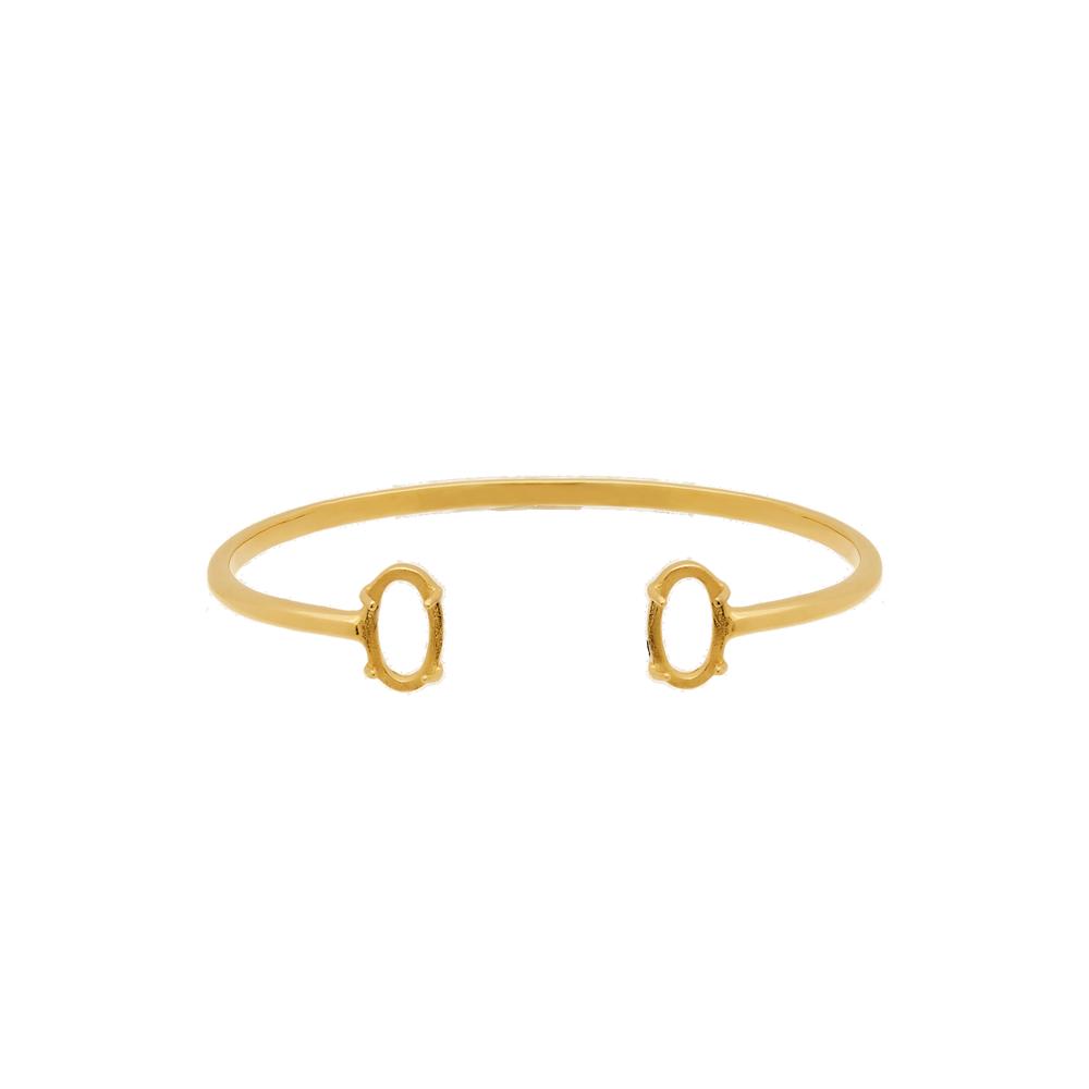Marissa Eykenloof Nola Armband ovaal goud