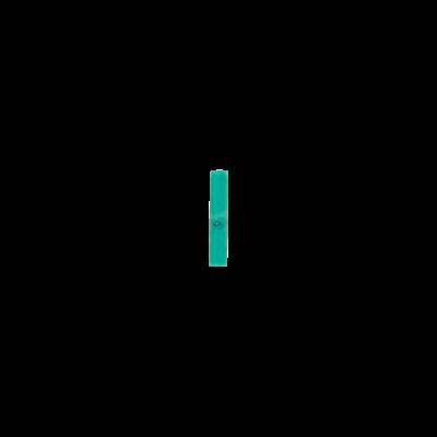 Rechthoek Reconstituted Turquoise