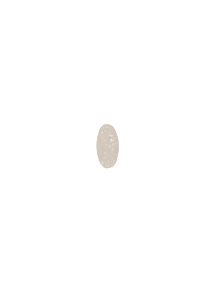 Marissa Eykenloof Oval White Druzy