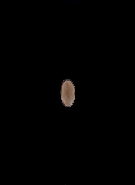 Marissa Eykenloof Oval Smokey quartz