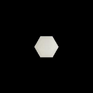 Marissa Eykenloof Hexagon White agate