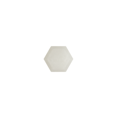 Hexagon Witte agaat