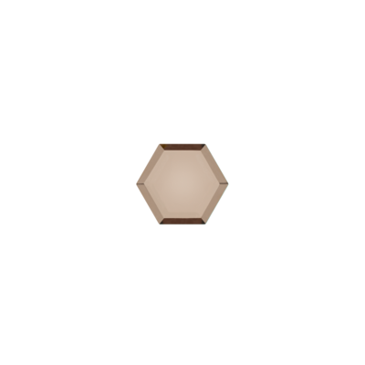 Hexagon Smokey quartz