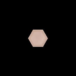 Marissa Eykenloof Hexagon Rose quartz